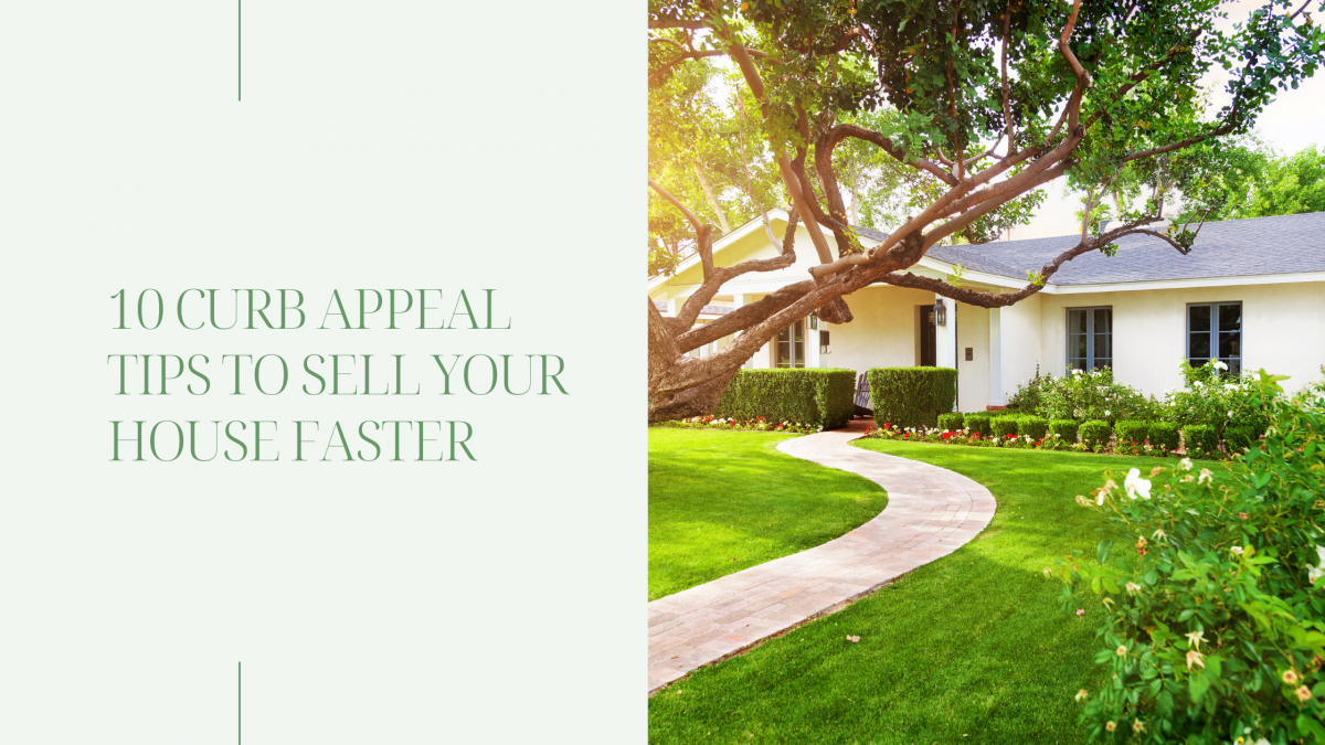 beautiful home for sale with curb appeal